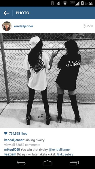 kendall and kylie jenner thigh high boots cap