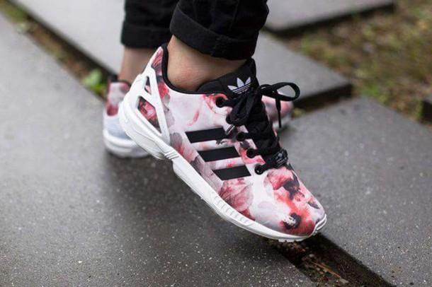 586610dc10ffd3 shoes adidas adidas shoes pink pink shoes white black women girl pattern.