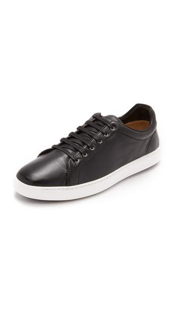 Rag & Bone Kent Lace Up Sneakers - Black