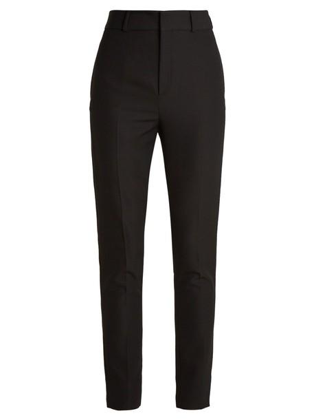 Saint Laurent wool black pants