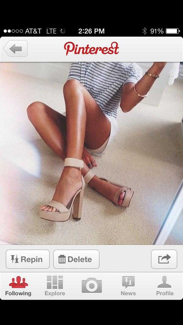 shoes heels summer heels nude heels pumps