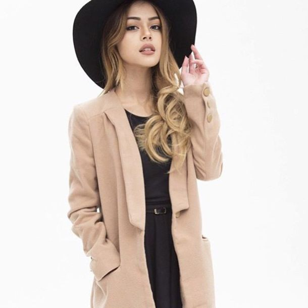 9cf602c806 coat fall outfits college back to school tumblr fashion tumblr girl cute  outfits pinterest