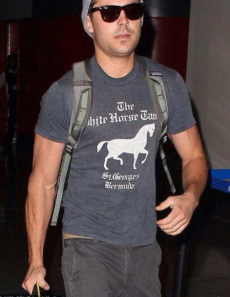 grey t-shirt zack efron grey t-shirt horses