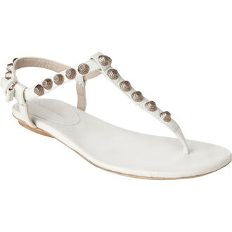 shoes balenciaga flat sandals sandals