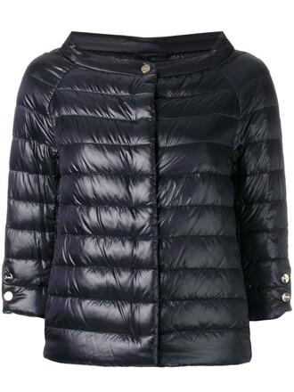 jacket cropped women black