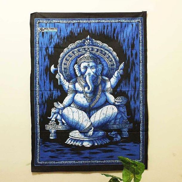 home accessory wall tapestry multimatecollection tapestry bohemian tapestry bluetapestry mandala fabric ganesha tapestry poster christmas gift cheap tapestry