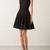 Azzedine Alaïa Dresses :: Azzedine Alaïa black fitted dress with velvet hearts | Montaigne Market