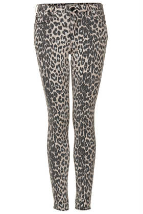 MOTO Leopard Leigh Jeans - Topshop