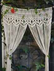 home accessory,crochet,curtain,draps,cream,tan,home decor,atomosphere,boho chic
