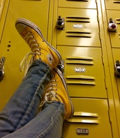 shoes,custom converse,yellow,mustard