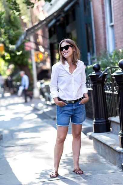after drk blogger shoes sunglasses belt