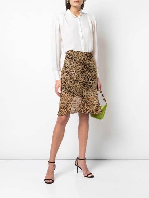 Nili Lotan leopard-print Skirt - Farfetch