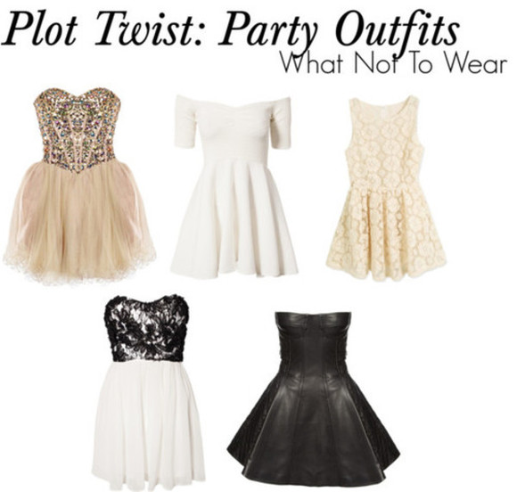 dress white dress little black dress strapless dress off the shoulders short party dresses