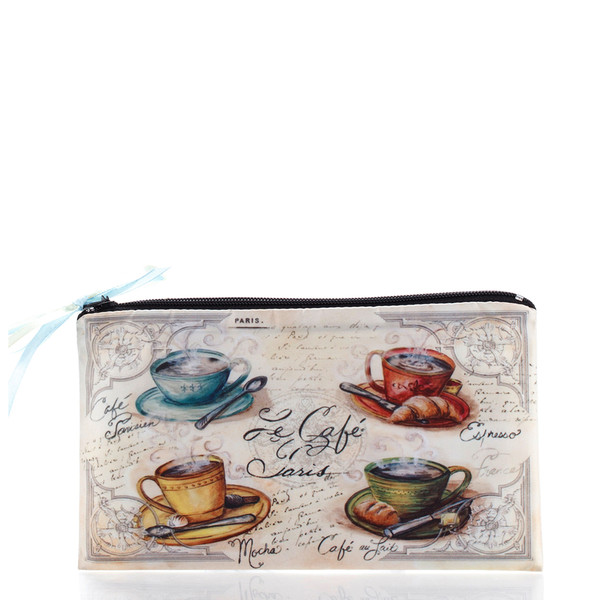 bag cup vintage ziziztime cafe cosmetic bag cosmetic case