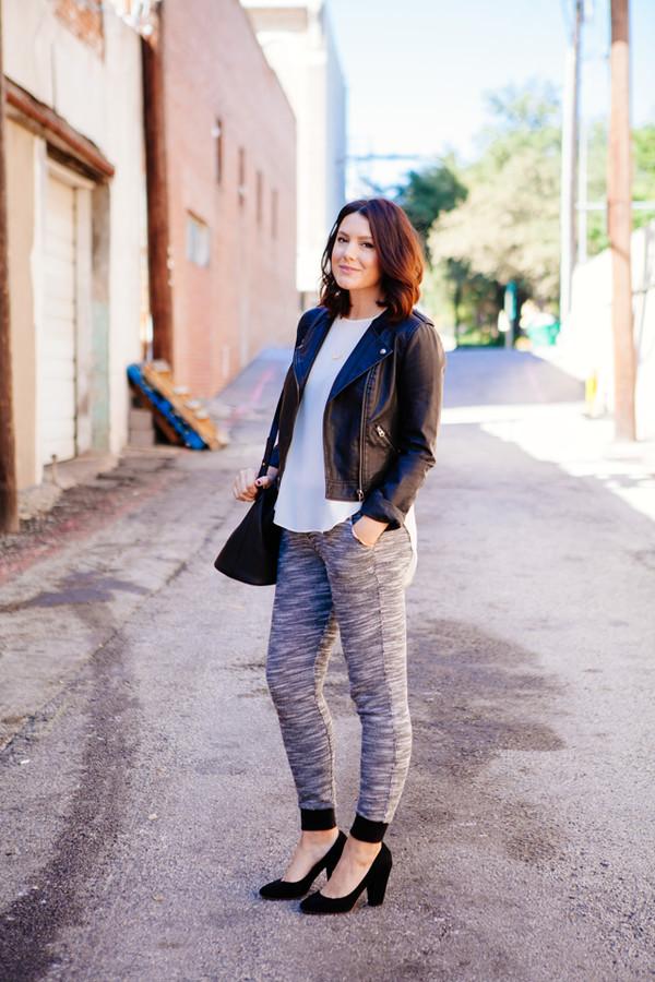 kendi everyday blogger jacket blouse bag jewels