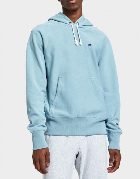 Champion Reverse Weave / RW Hooded Sweatshirt in Light Blue