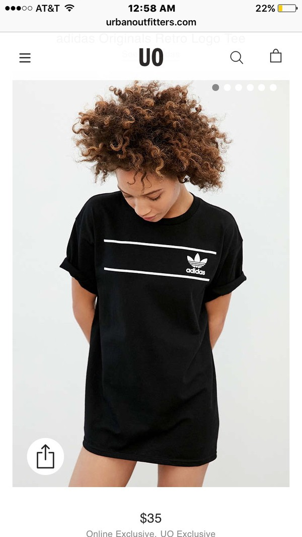 t-shirt black t-shirt adidas