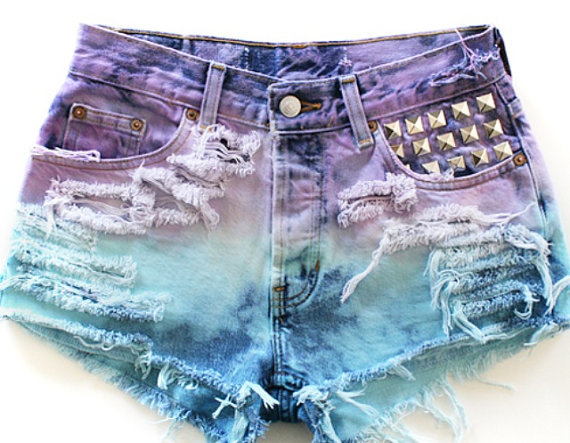 Custom Jean shorts on Wanelo