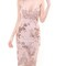 Gold sequined elegant bodycon nippon flower v-neck dress on storenvy