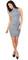 Verona hourglass grey dress