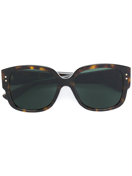 studs metal women sunglasses
