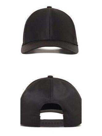 hat plain black baseball cap snapback