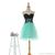 Cheap in Stock A-Line Sweetheart Short Mini Black And Turquoise Prom Party Graduation Cocktail Gowns Homecoming Dresses Bridesmaid Dresses Online with $49.74/Piece on Wedding_one's Store | DHgate.com