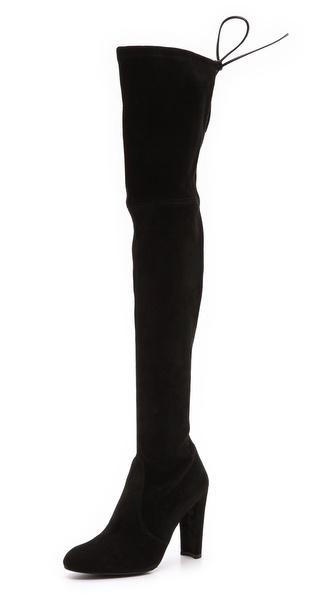 Stuart weitzman highland suede over the knee boots