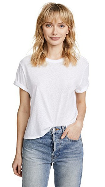 cotton white top