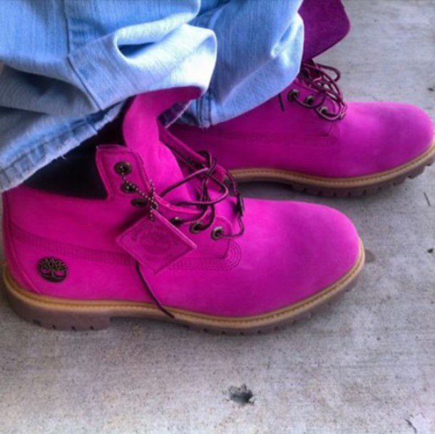 shoes timberlands pink timberland boots