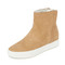 Vince hardy high top sneaker booties - sand