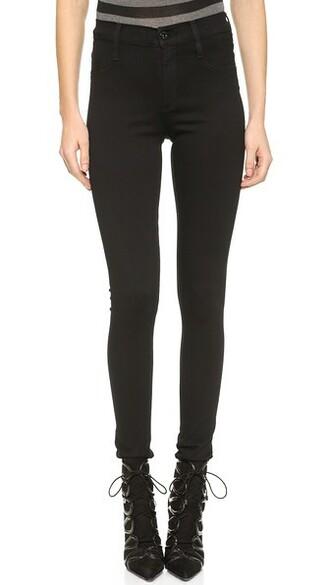 jeans yoga black