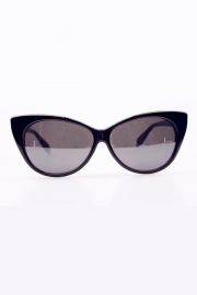 Cut-out Temple Round Sunglasses - OASAP.com