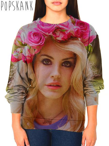 Lana del rey roses crewneck sweatshirt