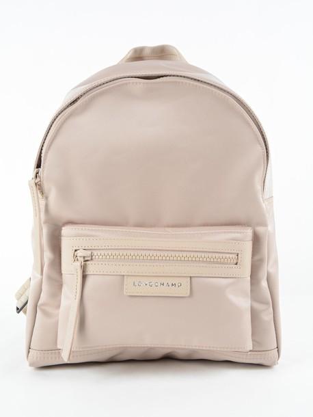 Longchamp backpack nude bag
