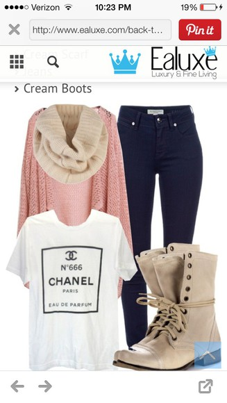 light pink shoes cardigan