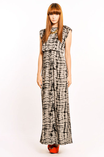 Ladies Irina Tie Dye Maxi | Pop Couture