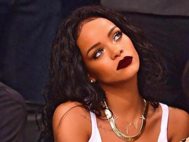 Make Up Rihanna Lipstick Wheretoget
