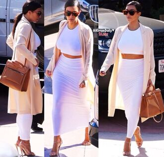 dress set style crop tops two-piece kim kardashian dress kim kardashian kim kardashian nude dress