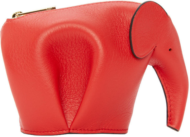 elephant pouch red bag