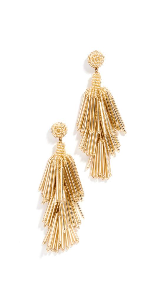 Deepa Gurnani Deepa by Deepa Gurnani Rain Earrings in gold