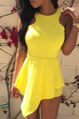 dress zaful yellow yellow dress