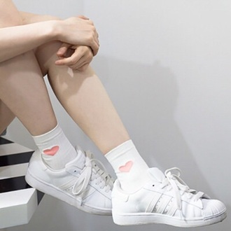 socks white pastel kawaii kawaii grunge pale soft grunge pale grunge japan japanese fashion shoes white shoes pastel pink pastel sneakers cute socks