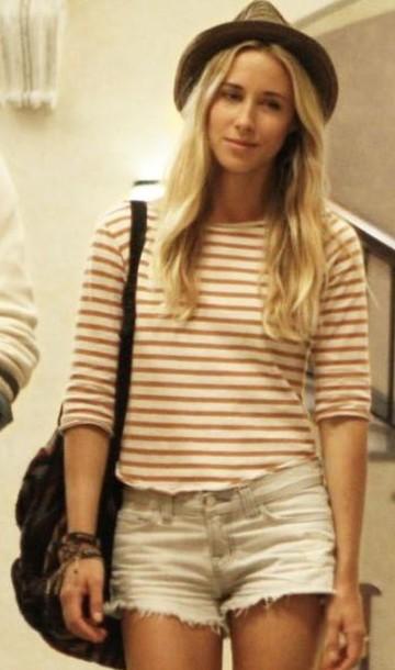 top gillian zinser 90210 stripes