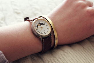 jewels watch classic vintage watch leather vintage