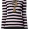 Dolce & gabbana - tassel embroidered striped top - women - spandex/elastane/cashmere/virgin wool/metallic fibre - 44, black, spandex/elastane/cashmere/virgin wool/metallic fibre