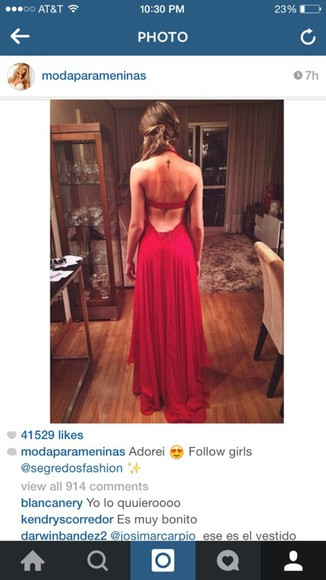 sexy dress prom dress red dress got to have this backless dress help me out flowy dress