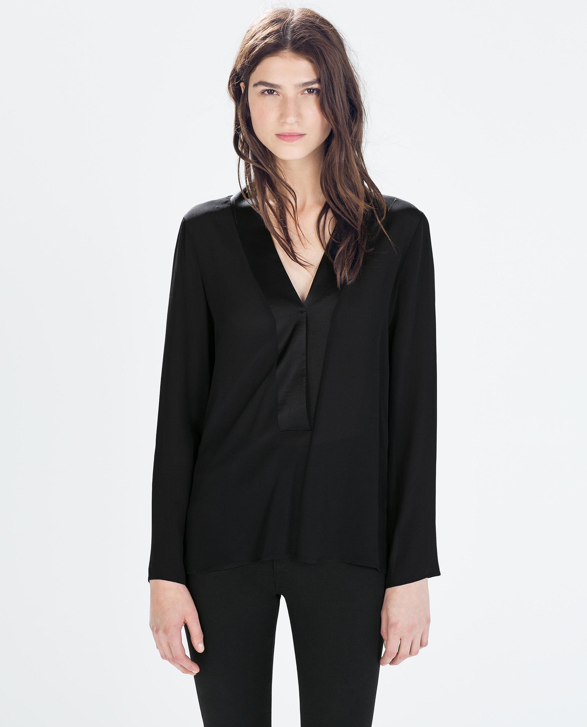 Zara Long Sleeved Blouse 109