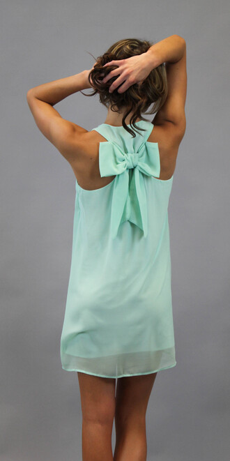 clothes pinterest mint shift bows
