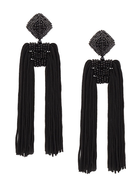 Sachin & Babi women earrings black jewels